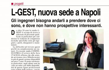 L-GEST, nuova sede a Napoli